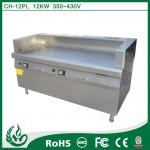 1400*800*(800+200)induction griddle electric griddle with lid with 20kw