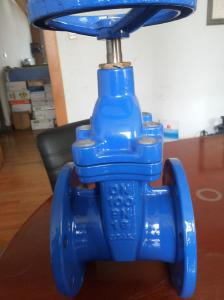 China Cast Iron Non Rising Stem Gate Valve , Flanged Wedge Disc Gate Valve 2 4 on sale