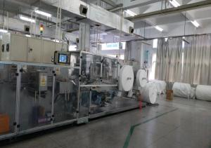 China High Speed Wet Wipes Production Line Full Servo Driving Longer Knife Service Time on sale