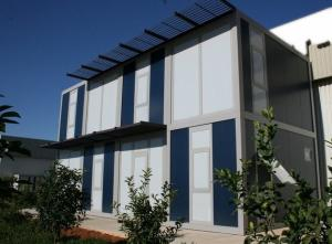 China Modern Modular House Container - Galvanized Steel Structure, Flat Pack on sale