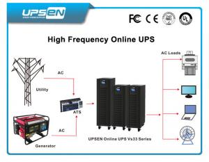 China Three Phase Uninterrupted Power Supply Wide Input Voltage For Railway Control Room on sale