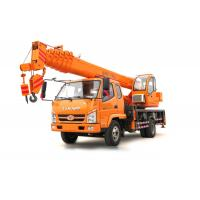 China T.King 10 -12 Ton Hydraulic Truck Crane With 4 Outrigger Telescopic Boom 26M - 36M on sale
