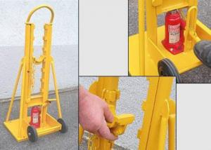 China 20 Ton Hydraulic Cable Drum Jack Cable Jack Stand For Stringing Cable on sale