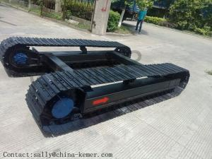 China Crawler Tracks Steel Track Undercarriage, Coal Drill Crawler Chassis, Anchor Drill Crawler Undercarriage on sale