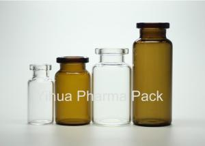 China Injection Crimp Top Glass Tube Vials 2ml 5ml 10ml For Medicinal GMP Standard on sale