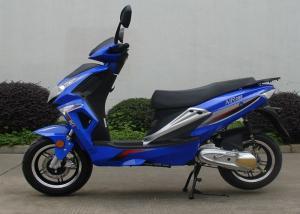 2 Stroke 1 Cylinder Blue Adult Motor Scooter 150 Kg Max Load