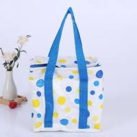 Multicolor Soft Sided Insulated Cooler Bag With Heat Transfer Printing
