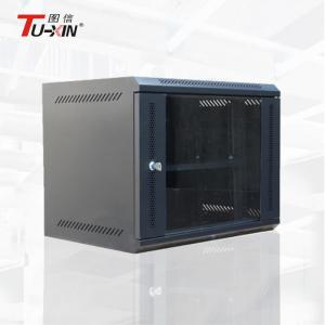 China Powder Coating Wall Mount Data Rack Network Cabinet  Stable Structure Anti - Vibration on sale