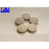 Button CR2032 Mno2 Lithium Ion Battery Cell  Non Rechargeable Light Weight