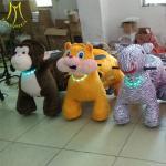 Hansel  indoor park games electric ride animal electric ride on horse toy furry animal toy