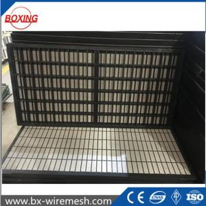 China JIXING China composite frame shale shaker screen/oil vibrating sieving mesh with API certificate on sale
