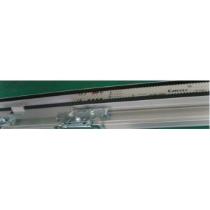 China Blue Aluminum Alloy Frame Automatic Sliding Door With Linear Magnetic Drive on sale