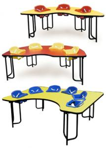 China High quality Multilayer Board play school furniture with good design on sale