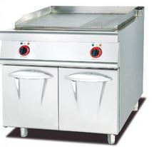 China Superficie de cocinar antiadherente de la plancha eléctrica comercial resistente con el gabinete on sale