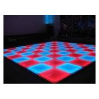 China 1.5mm armor plate LED Stage Light Series LED Dance floor-DMX LED Dance floor on sale