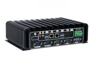 China I3-6100u CPU Industrial Mini PC 6 COM 2 Gigabit Lan For Factory Automation on sale