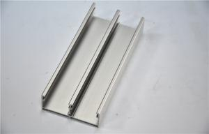 China Aluminum Frame Silver Anodized Aluminium Profile For Windows And Door on sale
