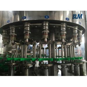 China 330ml PP / PET Bottle Juice Filling Machine Aluminum Foil Cutting / Sealing on sale
