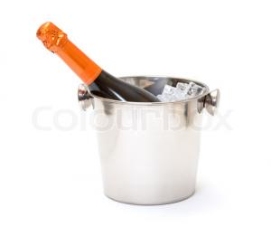 China RGB LED large champagne ice bucket with remote controller on sale