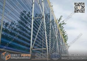 China HESLY Wind Barrier for Coal Stock Yard 12m high on sale