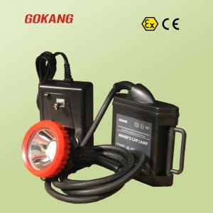 China Gokang underground miners cap lamp and mining headlamp, KL4Ex underground atex certified miners lamp on sale