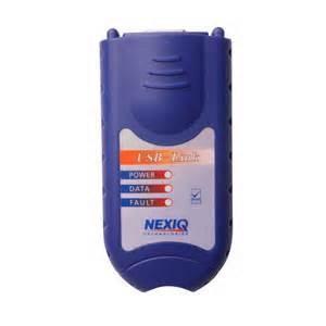 China Diesel Truck Diagnostic Interface Universal Diagnostic Tool Nexiq 125032 Usb Link on sale