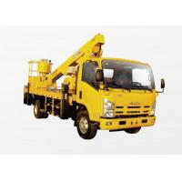 Best Price Working Basket Truck Mounted Lift With 18m Operating Height