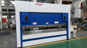 China 130 Ton X 13'' Hydraulic Steel Plate Bending Machine 4 Axis CNC Programmable on sale