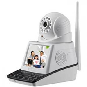 China security internet IP Camera system Support 433MHz Alarm smoke detector sensor on sale