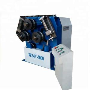 China Automatic Hydraulic Iron Profile Tube Bender Rolling Bending Machine W24S-6 on sale