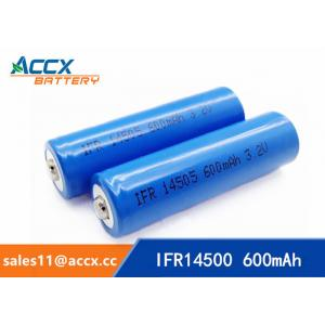 China hot sale AA 3.2V 600mAh lifepo4 battery for solar panel, led light on sale