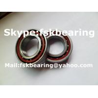 Bakelite Cage 7006CTA / P5 Angular Contact Ball Bearing For Machine Shaft