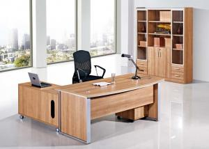 China 1.8m Size MFC Office Manager Desk Melamine Laminated Surface Premium Quality on sale