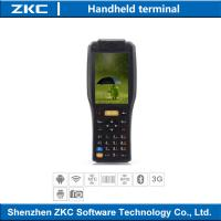 Touchscreen PDA Industrial Handheld Barcode Scanner Portable Data Collection Device