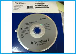 China Original Microsoft Windows 7 Professional Pro 64 Bit Full Version Sealed OEM box on sale