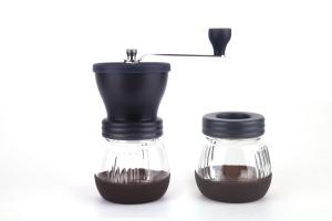 China New, light and safe hand coffee grinder manual coffee grinder mill and popular overseas on sale