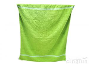 China 100% Cotton Long Bath Towels , Organic Cotton Towels For Swimming Pool on sale