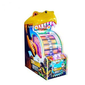 China Indoor Lucky Dinosaur Wheel Redemption Game Machine 12 Months Warranty on sale