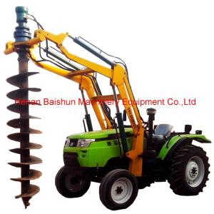 China Earth Auger Drill Truck Crane Hole Drill Earth Auger Bore Pile Machine on sale