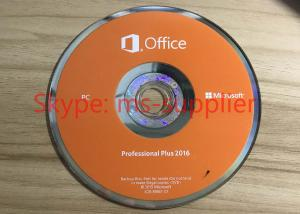 Quality Microsoft Office 2016 Pro DVD Retail / PKC / OEM Pro 64 Bit, Microsoft Office for sale
