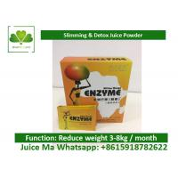 China Private Label Weight Loss Fruit Juice Fast Slimming Natural Fruit Instant Powder on sale