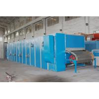 Continuous dyeing Wool Scouring Machine Stainless steel output sheet
