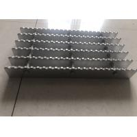Serrated Aluminum Grating For Roof Grille 6063 Raw Material Customized Size