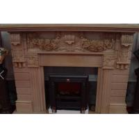Buliding decoration marble and granite stone Fireplace statue