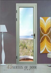 China BEL-45 Double Glazed Aluminium Casement Doors for Balcony on sale