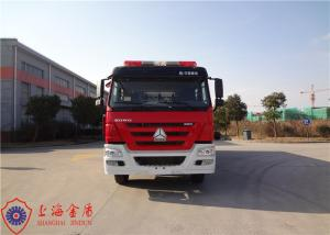 China 6x4 Drive Type Foam Fire Truck With Flat Top Metal Forward Turnover Cab on sale