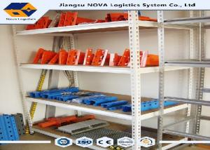 China CE Boltless Metal Shelving With Multi Level Picking Modules , Warehouse Storage Racks Household on sale
