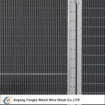 Security Fence Panels|Carbon Steel Wire Fencing Security Barrier with Mesh Size 200x50mm