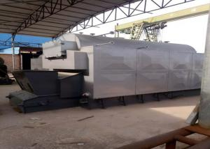 China Fully Automated Horizontal Biomass Fuel Boiler / Wood Pellet Steam Boiler on sale