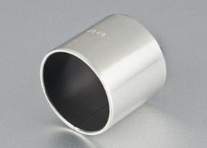 China Lining Sprayed Self Lubricating Bearing Materials Marine Stainless Steel Bush SF-1DU For Valves on sale